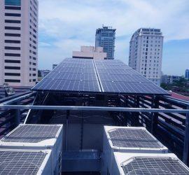 Điện Mặt Trời Hòa lưới 15kwp tại Giảng Võ, Hà Nội