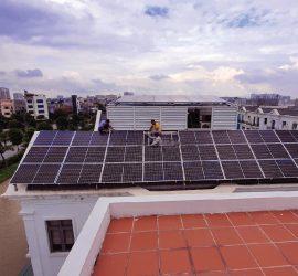 Điện Mặt Trời 10kwp Hòa lưới tại Lê Lợi, Phủ Lý, Hà Nam