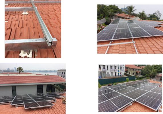 dàn khung đỡ pin mặt trời