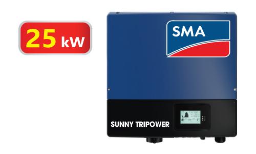 Inverter hòa lưới 3 pha SMA STP-25000 xuất xứ Đức