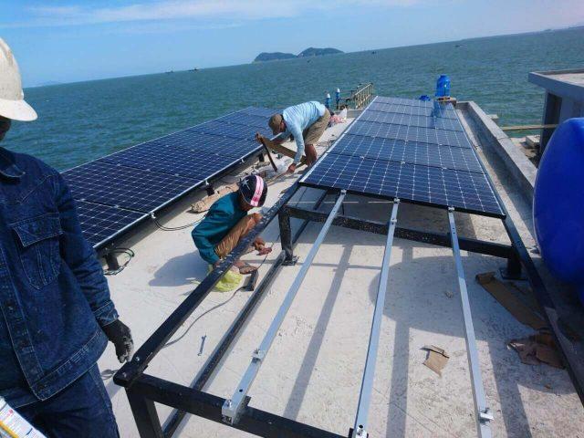 Dự án lắp hệ thống điện mặt trời của SUNEMIT