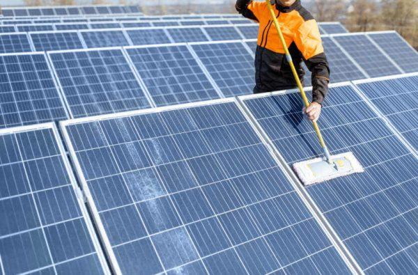 Dịch vụ vận hành và bảo trì hệ thống điện mặt trời