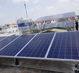 Báo giá chi phí lắp điện năng lượng mặt trời áp mái nhà