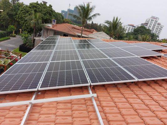 Hệ thống Điện mặt trời Hòa lưới có lưu trữ tại nhà Đại sứ Thụy Điển tại Việt Nam
