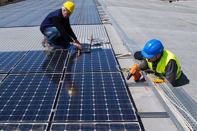 Cách lắp đặt hệ thống điện năng lượng mặt trời đúng cách