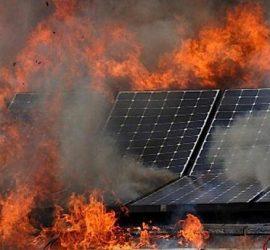 Nguyên nhân gây cháy nổ hệ thống điện năng lượng mặt trời