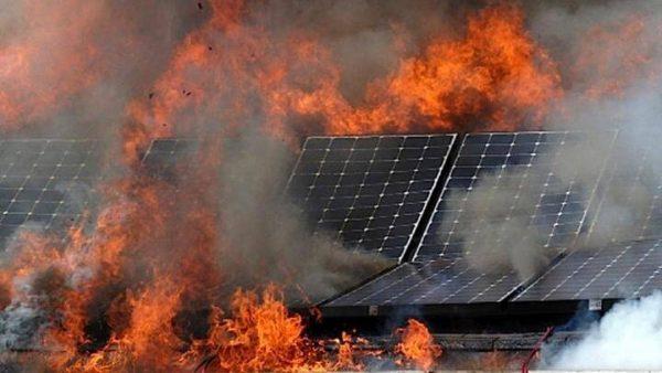 nguyên nhân gây cháy nổ điện mặt trời