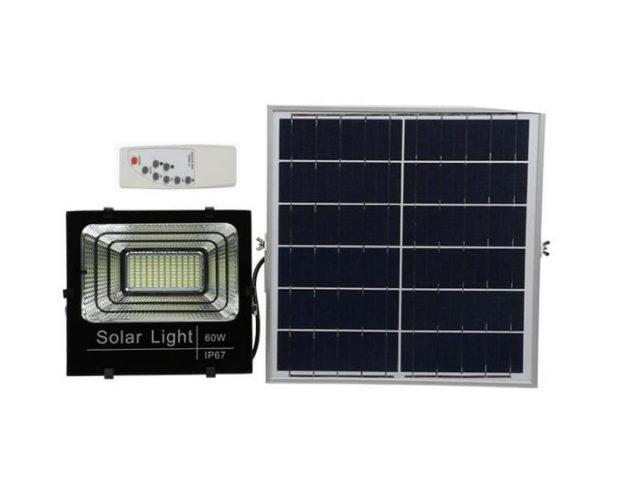 Đèn năng lượng mặt trời 60W