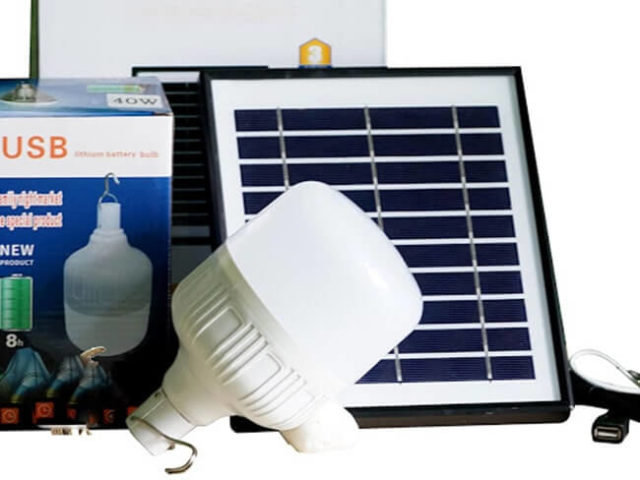 Đèn năng lượng mặt trời Bulb 90W