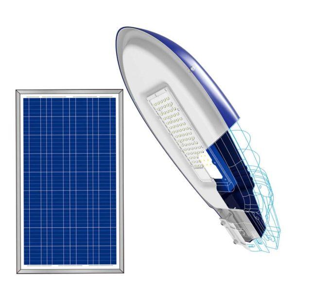 Đèn năng lượng mặt trời Blue Carbon