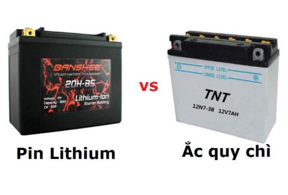 Pin Lithium và Ắc quy chì